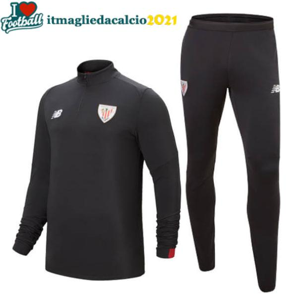 set completo felpa Athletic Bilbao 2020 nero