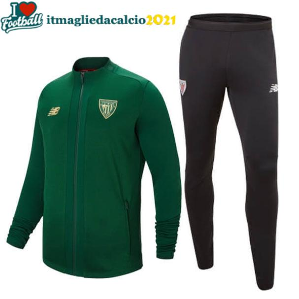 set completo felpa Athletic Bilbao 2020 verde
