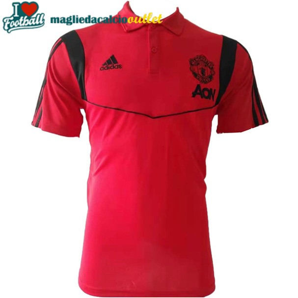 divisa polo manchester united rosso 2019-2020