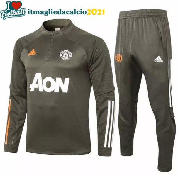Giacca completo Manchester United 2020-2021 verde